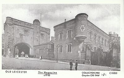 Old Leicester Postcard - The Magazine c1910    V1808