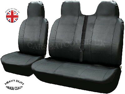 Ford Transit (06-13) 260 2.4 Tdci Swb Heavy Duty Leatherette Van Seat Covers