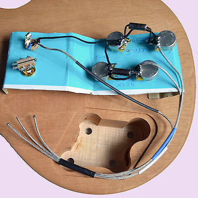 KIT CONTROL ELECTRONIQUE CABLE pour Les Paul Gibson Epiphone LP Wiring harness