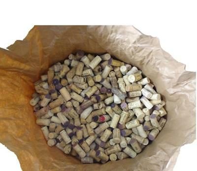 180 Used Natural WINE CORKS from Europe - free Shipping worldwide (wine cork)