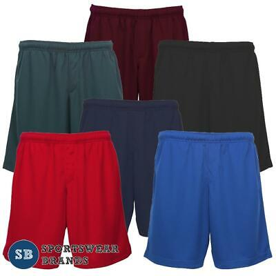 Mens Short Workout Gym Running Breathable 6 Colours Sizes XS - 5XL New ST2020
