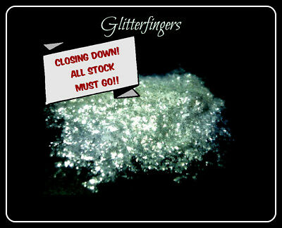 Intense Sparkle White Synthetic Grade Mica Glitter 10g CLOSING DOWN