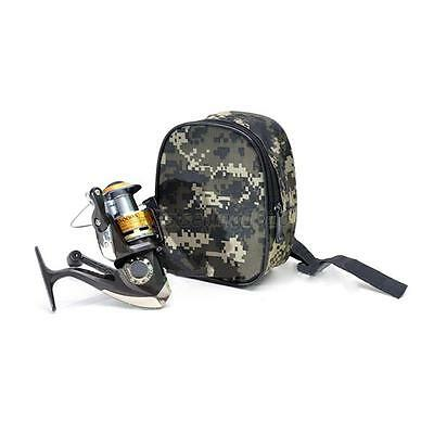 Portable Outdoor Sports Fishing Reel Mini Bag Pocket Fishing Tackle Pouch   B86