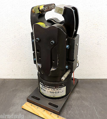 Phd Number Cruncher Pnc44P-1-S16-S16-Laa Gripper Pneumatic Work Clamp Grip Used