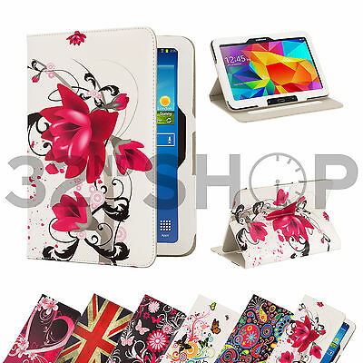 PU Leather Flip Stand Case Cover for Various Samsung Galaxy Tab + Screen Guard
