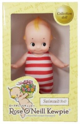 Final Sale! Rose O'Neill 100th anniversary Kewpie Correction red swimsuit Japan