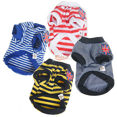 New Pet Puppy Clothes Winter Coat Cat Dog Sweater Clothes Costume Jacket T-shirt