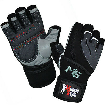 Muscle Style Professional Gym Fitness  Gloves Fitnesshandschuhe Sport Handschuhe