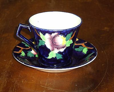 **REDUCED PRICE** MALING CUP AND SAUCER DEMITASSE SIZE PEONA 6504
