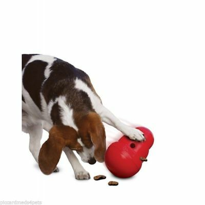 KONG Wobbler Treat or Food Dispensing Interactive Dog Toy Small