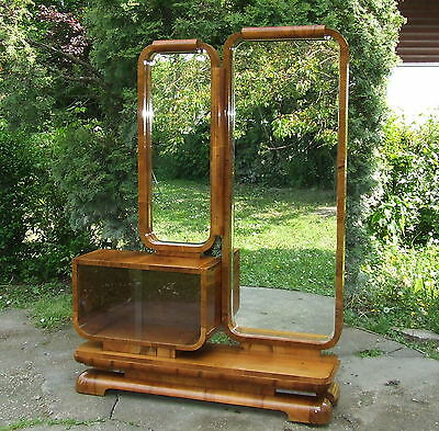 Art Deco Dressing Table. FREE Delivery UK. Full Length Mirror. Genuine 1920s.