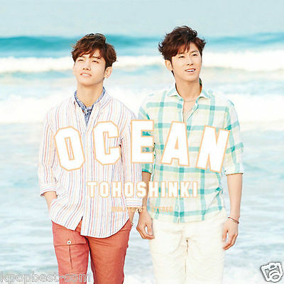 DBSK TVXQ - OCEAN (KOREA version) [Normal Edition Single Album] CD+ Gift Photo