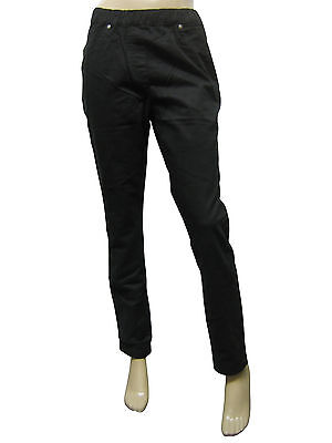 Womens MS Mode Skinny Fit Jeggings Denim Black Size 12 to 20 Ladies C1
