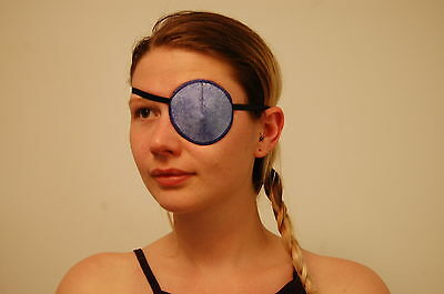 Medical Eye Patch, BLUE CLOUDS, Soft & Washable - Sold to the NHS