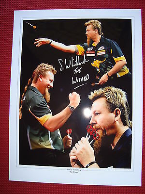 SIMON WHITLOCK 'THE WIZARD OF OZ' HAND SIGNED 30cm x 40cm PHOTO: EXACT PROOF COA
