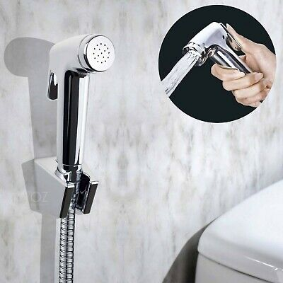 New OZ Clean Wash Toilet Seat Hand Held Shower Head Douche Bidet Toilet Spray