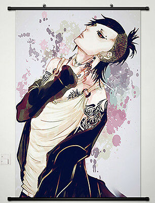 Home Decor Anime Tokyo Ghoul Wall Scroll Poster Fabric Painting Uta -007