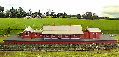 Ho scale building NSWGR A-6 Station