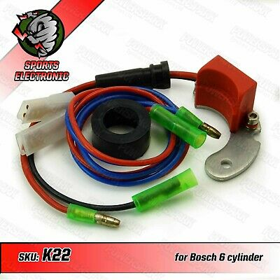 Powerspark Electronic Ignition Kit for Bosch 6 Cylinder LH Points Distributor