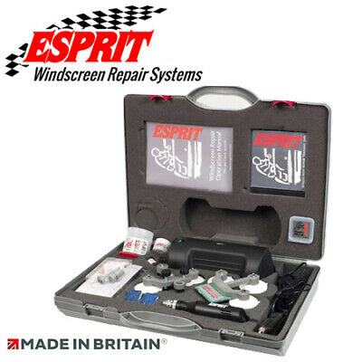 2017 Esprit Windscreen Chip Crack Repair Kit Compact Classic 12V