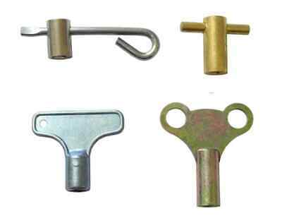 4 Different Radiator Bleed Keys Each With Its Own Advantage | Air Venting Tools