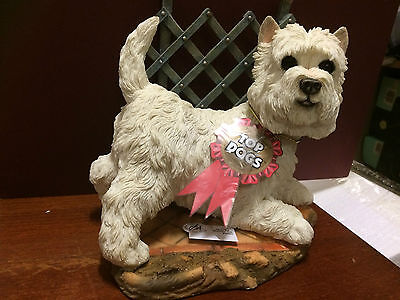 "Top Dogs ""Sparky Westie on Patio* No: 04566-rare"