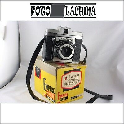 EMPIRE SCOUT fotocamera vintage  from Hong Kong 6x6 ,no Ferrania-Bencini-Zeiss-