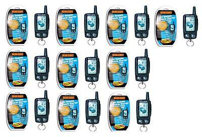 Lots of 10 Brand New 2-Way LCD Remote Starter (Bulldog DELUXE500)