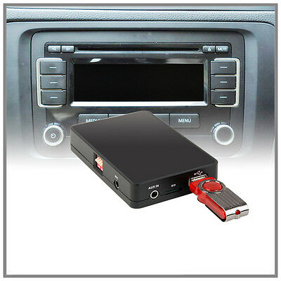 iPhone + iPod + USB + Bluetooth DENSION GATEWAY Lite 3 BT GBL3VW1 for Seat quadlock 12pin Skoda /& VW