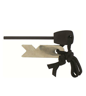 Fire Starter Flint and Steel - for camping, bushcraft, survival, scouts, DofE