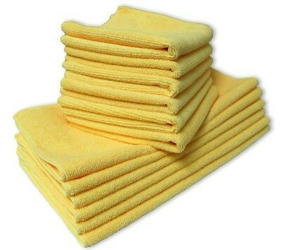 36 x Microfiber Cleaning ClothTowel Soft Car Cloths Polishing Waxing Detailing