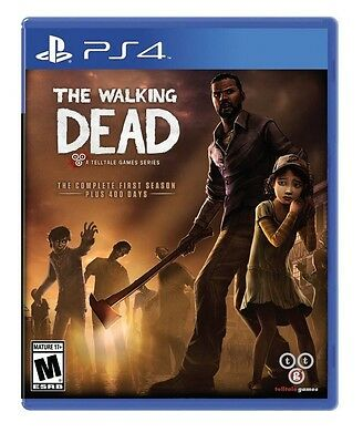 The Walking Dead: The Complete First Season - PlayStation 4 PS4 - NEW!