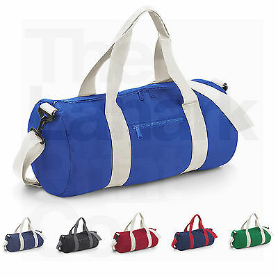 Bagbase Varsity Barrel Bag (Bg140) 20L College School Gym Duffle - 6 Colours