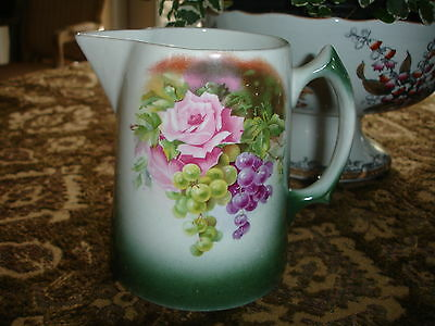 Edwin M. Knowles China Co. Rose Pitcher (circa 1900-1948)