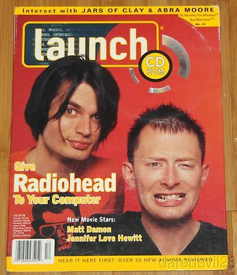 1997 Launch Digizine CD-Rom RADIOHEAD JARS OF CLAY ABRA MOORE MATT DAMON