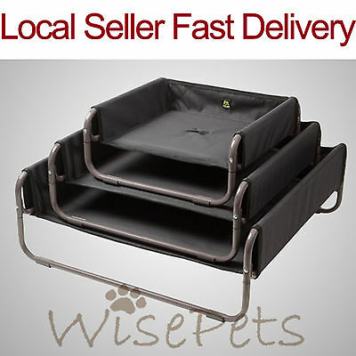 Large Portable Washable Pet Dog Cat Bed Sofa Canvas Cover Heavy Duty Metal Frame