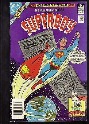 New Adventures Of Superboy #22 Vg+  1981 Dc