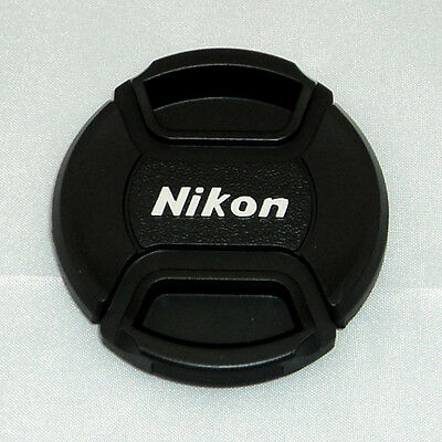 10pcs 52mm LC52 Snap-On Center-Pinch Replacement Front Lens Cap for Nikon D7000