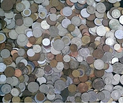 ☆ 1/4 Pound World Coin Lots! 4 Oz Mixed World Coins + Bonus With Every Lot! ☆
