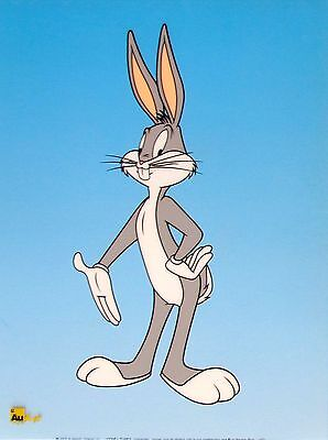 Warner Bros BUGS BUNNY STANDING Limited Edition Sericel Cel Animation Art