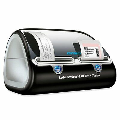 NEW! DYMO Label Writer 450 Twin Turbo label printer, 71 Labels Per Minute,