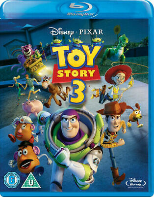 Toy Story 3 - Blu Ray- Disney - Pixar  - New / Sealed - Uk Stock