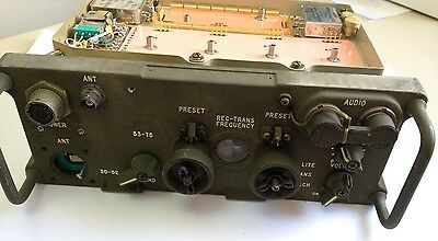 PRC 77 / RT-841 AN/PRC-77 Vietnam War Portable Military VHF FM Radio US ARMY