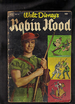 Four Color #413 Poor (Walt Disney's Robin Hood) Dell Photo Cover