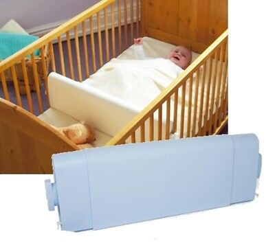 Safababy Safer Baby Sleeper - Sleep Positioner for Cots & Cot Beds - Blue