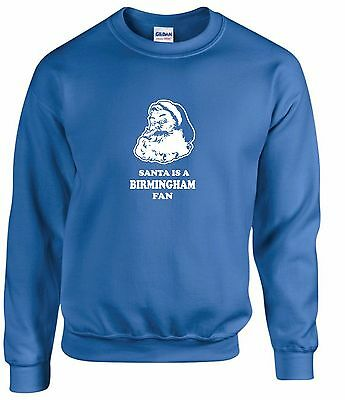 SANTA IS A BIRMINGHAM FAN T-SHIRTS MENS