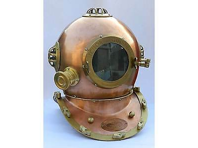 SCUBA DIVING HELMET-ANCHOR ENGINEERING HELMET-Nautical Decoration