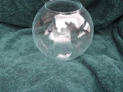 Large Clear Glass Candle Holder Voltive