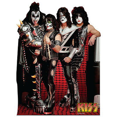 KISS Group Simmons Stanley Thayer Singer CARDBOARD CUTOUT Standup Standee Poster