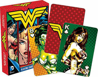 Wonder Woman - Playing Card Deck - 52 Cards New - Dc Comics Justice League 52288